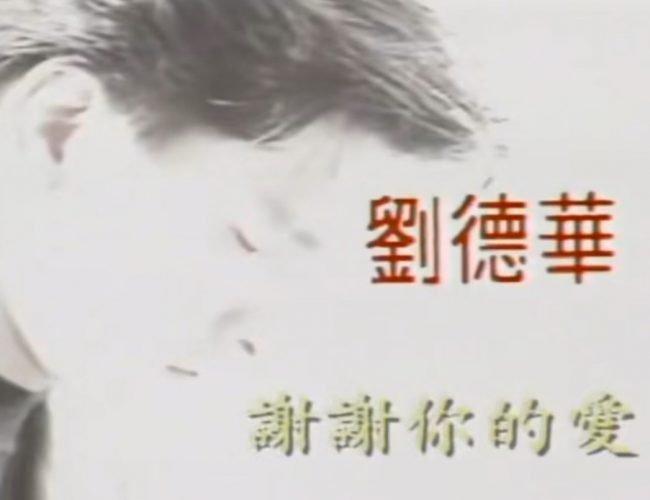 劉德華:謝謝你的愛