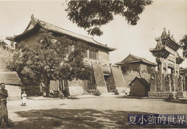 柏石曼清末中國行(4)1907年的山東泰山老照片