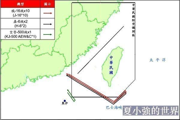 沈舟:中共軍機台海操練缺乏實戰價值
